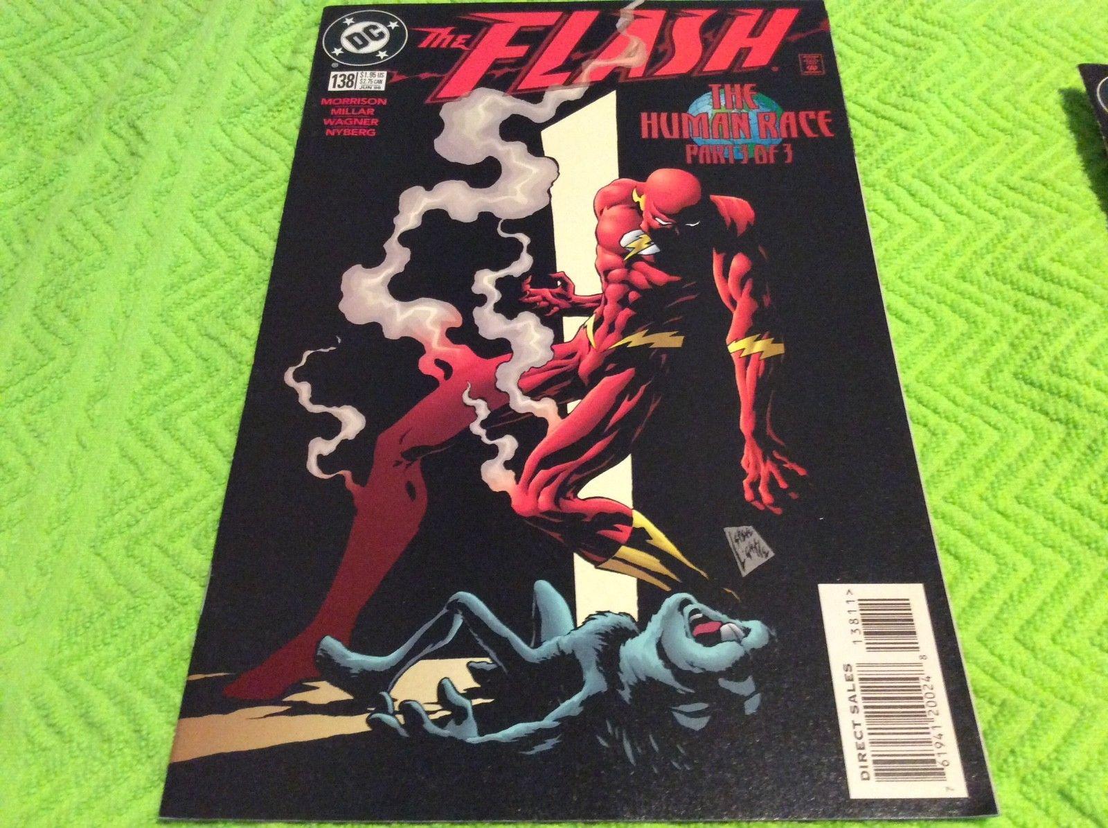 The Flash #138 (1998 DC Comics) First Appearance Black Flash Grant Morrison. NM