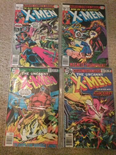 Uncanny x-men huge 41 issue lot #110-199