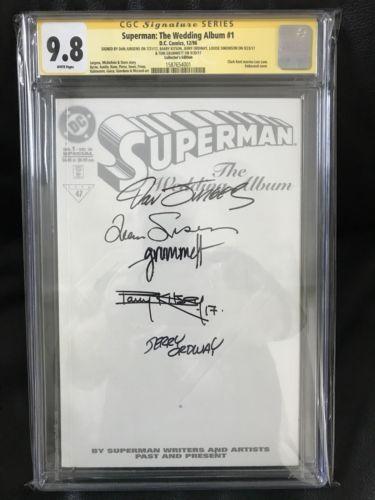 SS CGC 9.8 Superman The Wedding Album #1 (1996) SS5x Jurgens, Ordway, Simonson+2