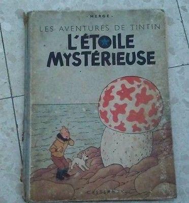 TINTIN 1946 L'étoile mystérieuse - lire annonce
