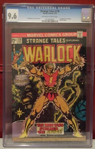 Strange Tales 178 CGC 9.6 1st Appearance Of The Magus Warlock Marvel Avengers