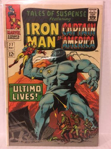 Tales of Suspense 77 1st Peggy Carter Iron Man Sub-Mariner 1 Iron Man 126 128