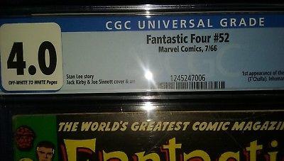 Fantastic Four #52 Vol 1 Silver Age, CGC 4.0