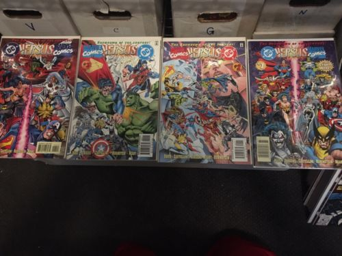 DC versus Marvel / Marvel versus DC Set # (1-4May 1996, DC)