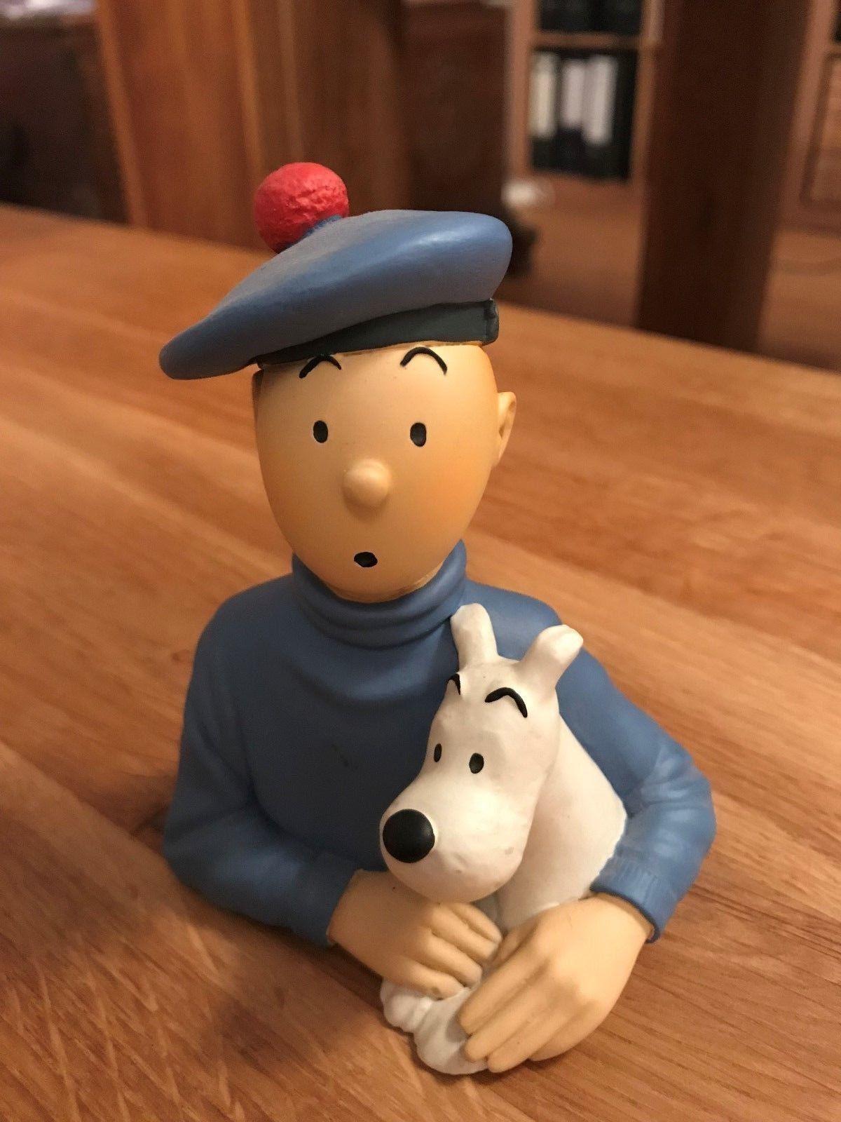 TINTIN Pixi - Petit Buste Tintin Ecossais, Ref 30010, selten, von 1993