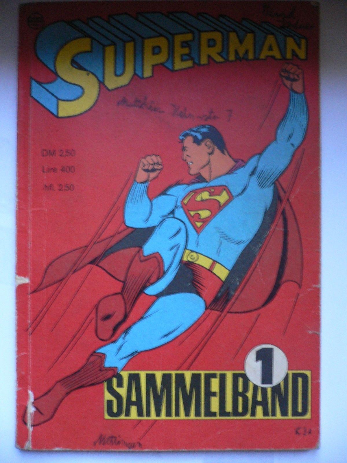 Superman Sammelband Heft 1 Jahr 1966 Z2-