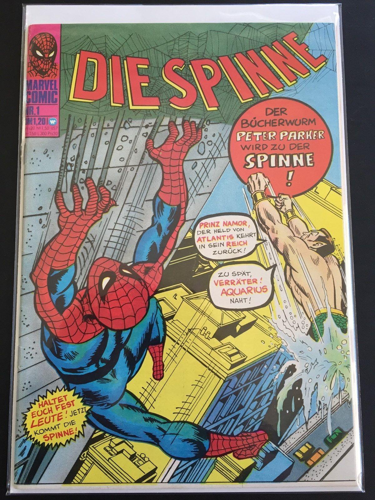 Die Spinne Nr.1 - 137  Z 0-1/1 Traumzustand mit Coupon Williams