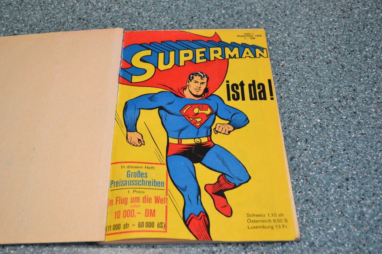 Comics Superman Sammelband  1 von 1966