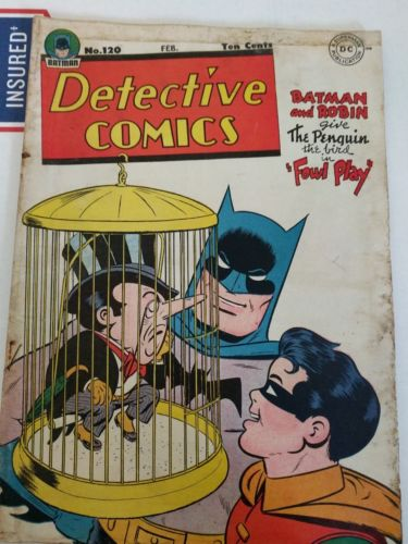 Detective Comics (Batman and Robin) #120 Feb. 1947 (DC comics)