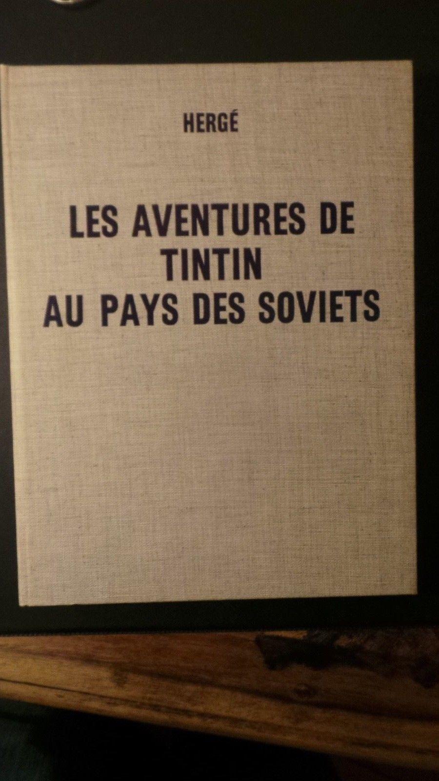 Hergé EO NEUF Tintin au pays des Soviets édition spéciale 1969 RARE