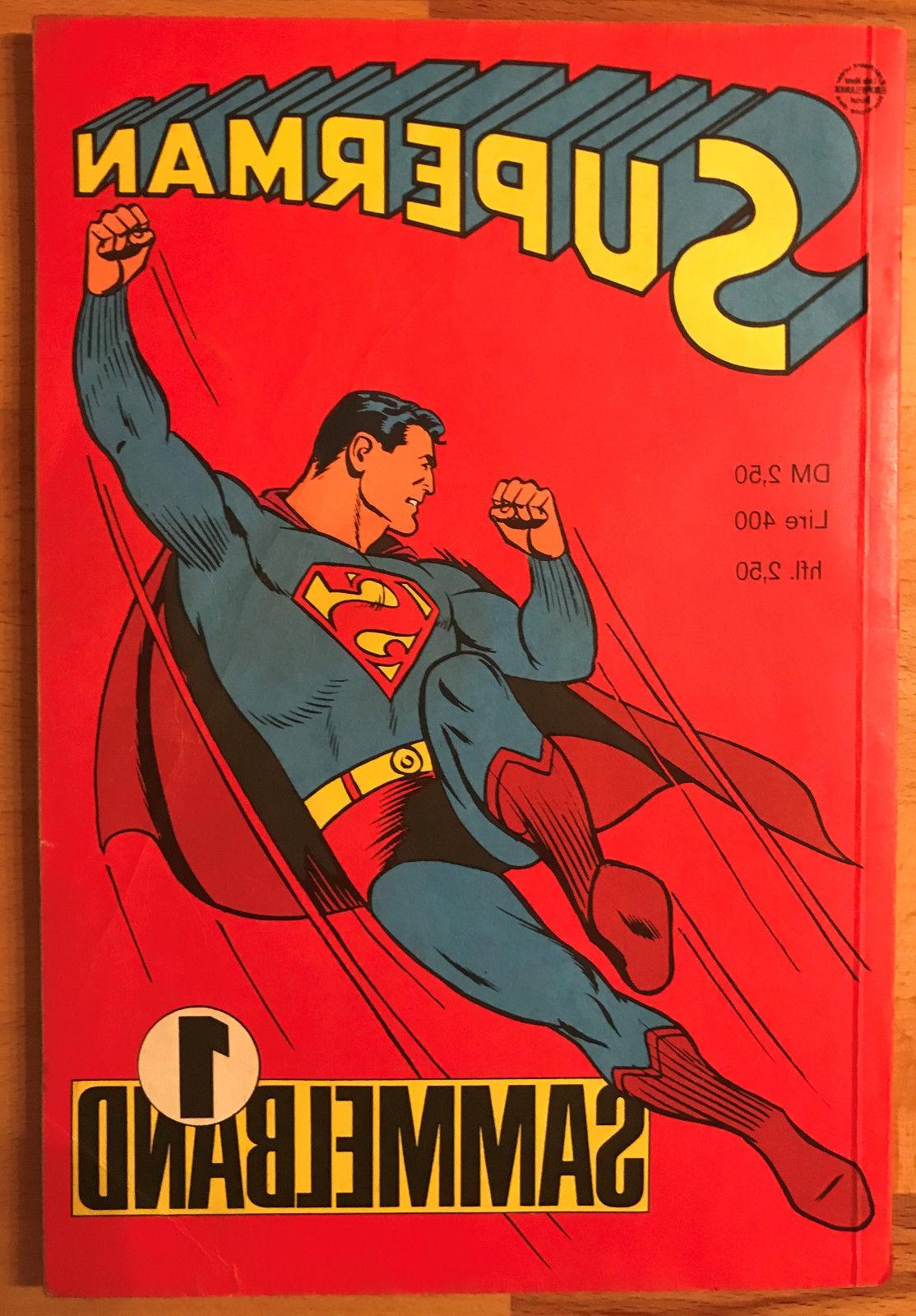 Superman Sammelband 1966 mit Hefte 1-4, Zustand Z2 Ehapa-Verlag