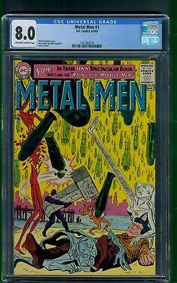 Metal Men #1 (1963) CGC Graded 8.0   Ross Andru & Mike Esposito Cover & Art