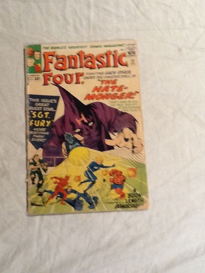 Fantastic Four 21 First app The Hate Monger