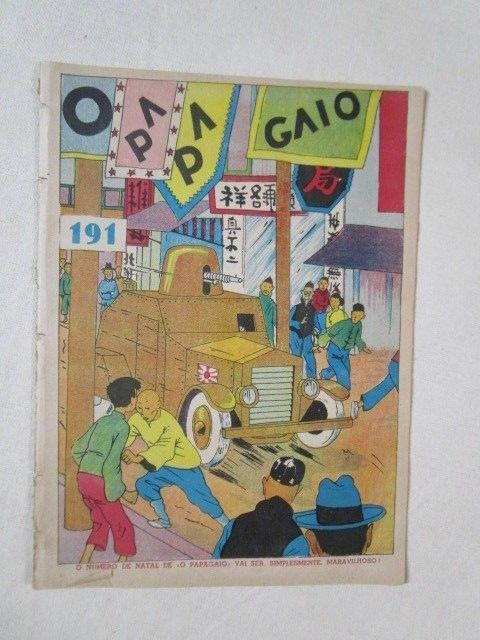 herge tintin papagaio very rare portugal year 1938 a suivre very rare