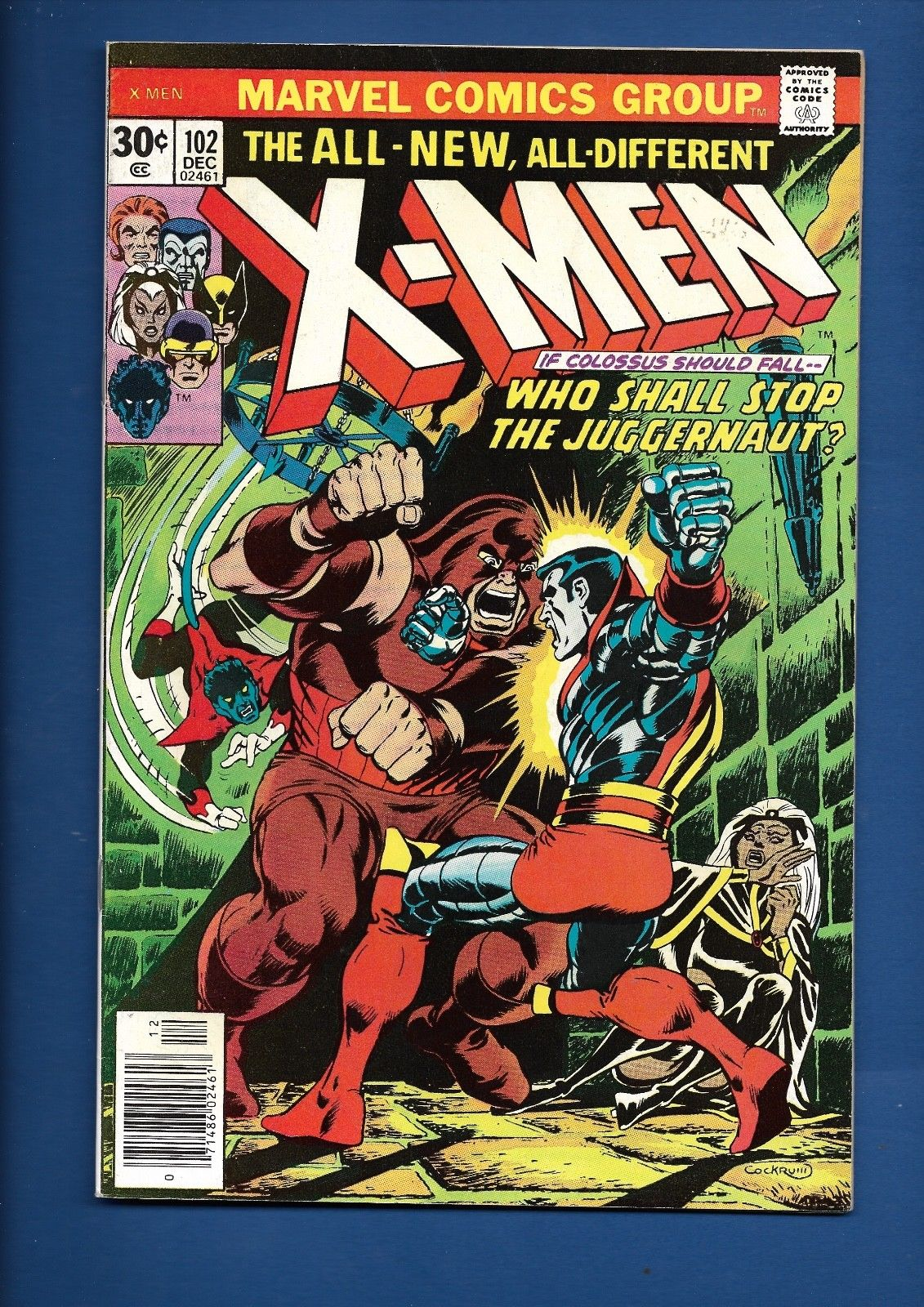 UNCANNY X-MEN XMEN #102 104 105 106 110 111 MARVEL 1977 BRONZE AGE COMIC LOT
