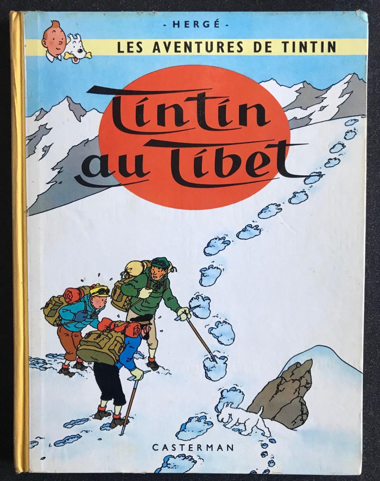 Tintin au Tibet EO TL 100 ex signé dédicacé
