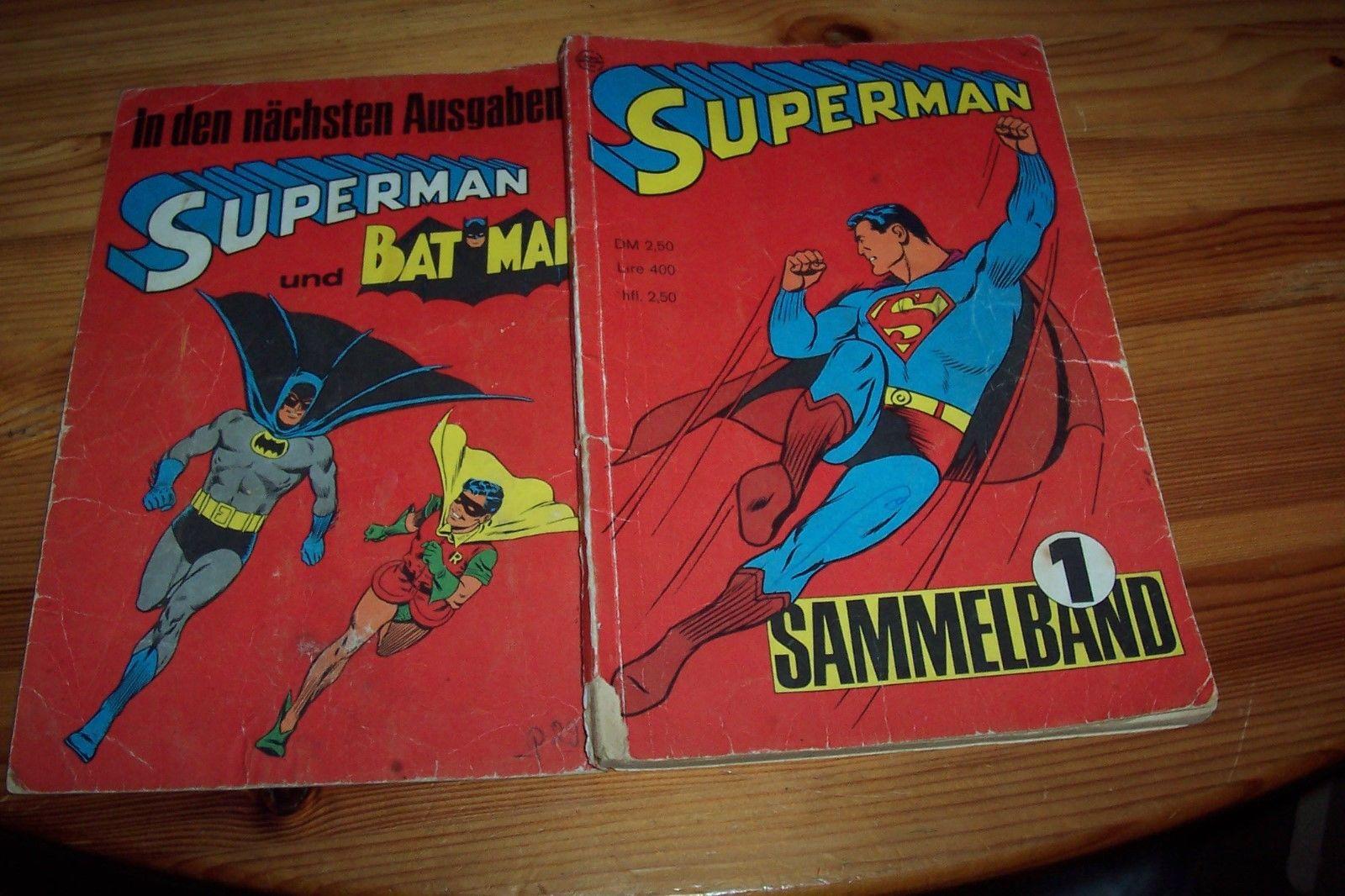 SUPERMAN 1965/66 Sammelband Nr.1 m.d.Heften 1-4 aus Sammlung original
