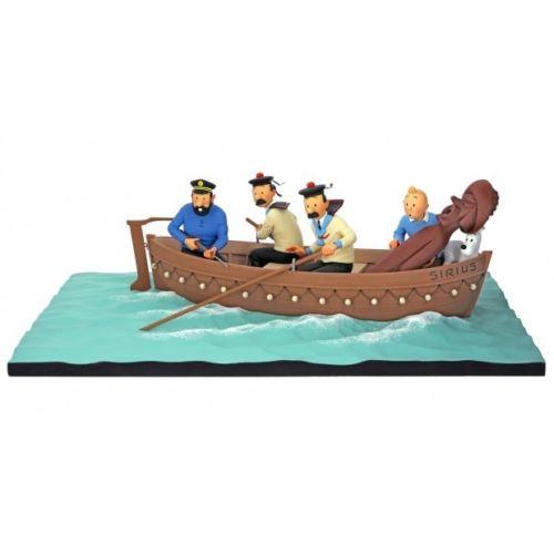 Tintin Et Les Duponts Dans Le Sirius Fariboles