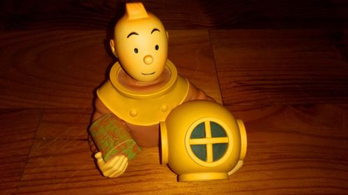 Buste Tintin Pixi par Patrick Regout - No Leblon Aroutcheff Fariboles