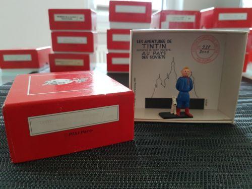 TINTIN Tim und Struppi PIXI Ref. 4588 Tintin milou au pays des soviets