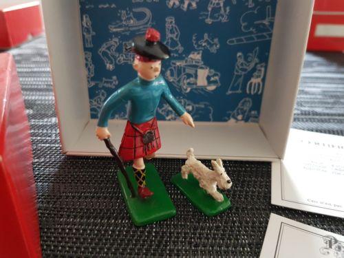 TINTIN Tim und Struppi PIXI Ref. 4511 Tintin milou ecossais