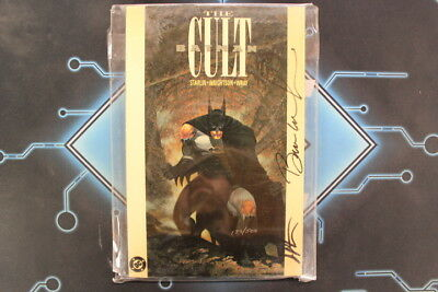 Batman: The Cult #1 TPB Signed by Jim Starlin and Berni Wrighton with Certificat