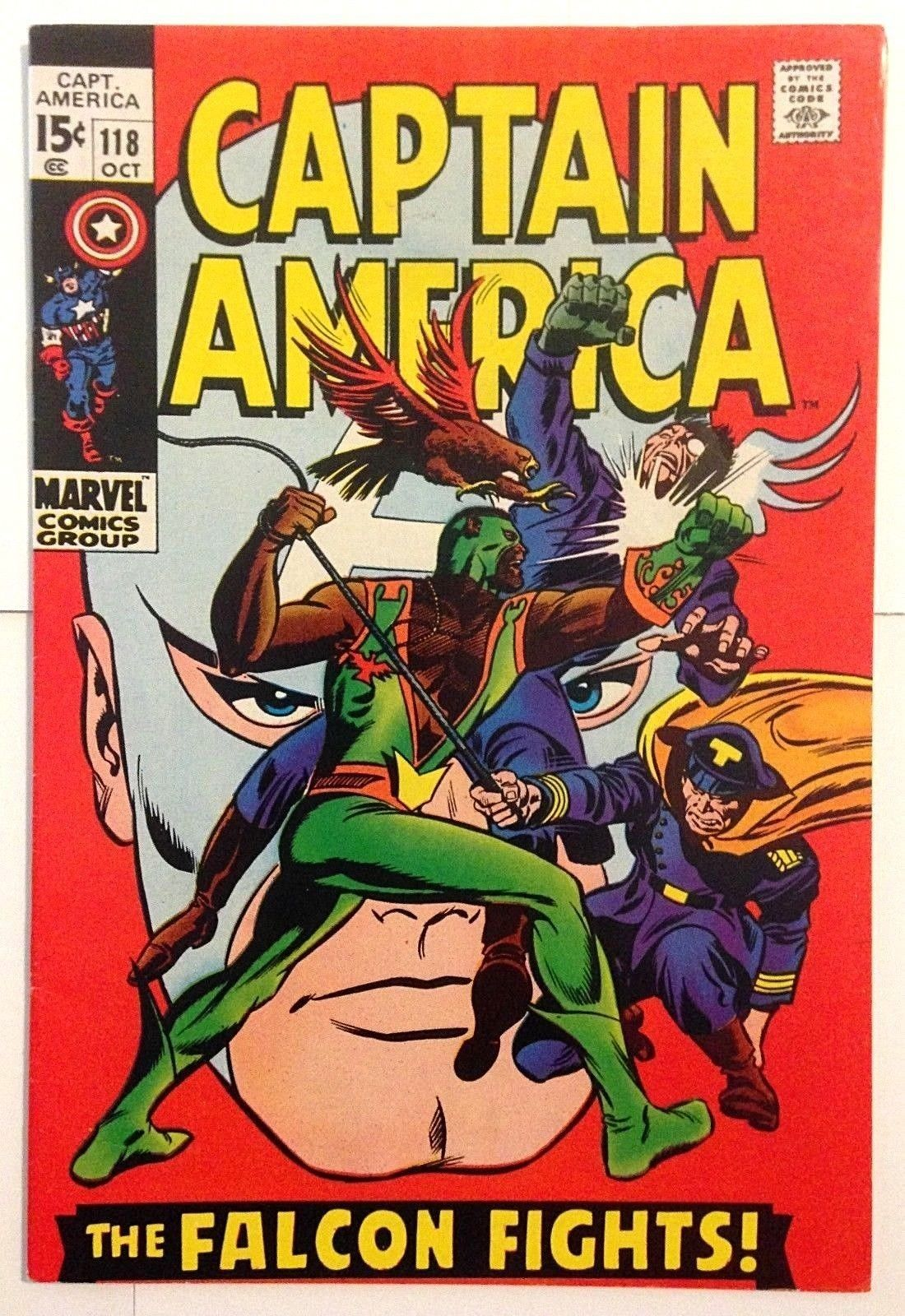 Captain America 118, 119, 120, 121, 122, 123, 124, 125, 126, 127, 128 HIGH GRADE