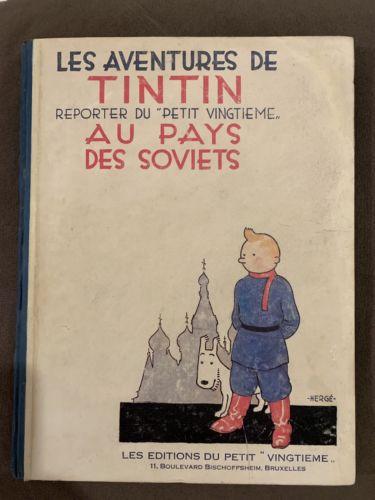 Tintin au Pays des Soviets - Edition originale 1930 - 3 ème mille