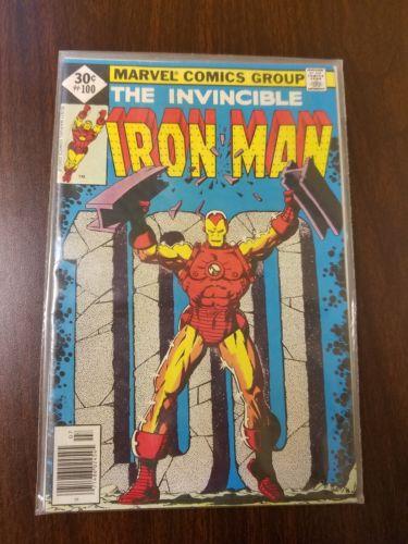 Iron Man #100 w Captain America Lot 137, 147, 148, 150, 151, 152