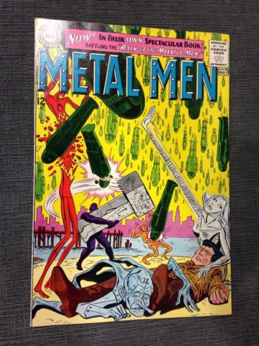Metal Men 1. Beautiful High Grade. CGC It. Unrestored