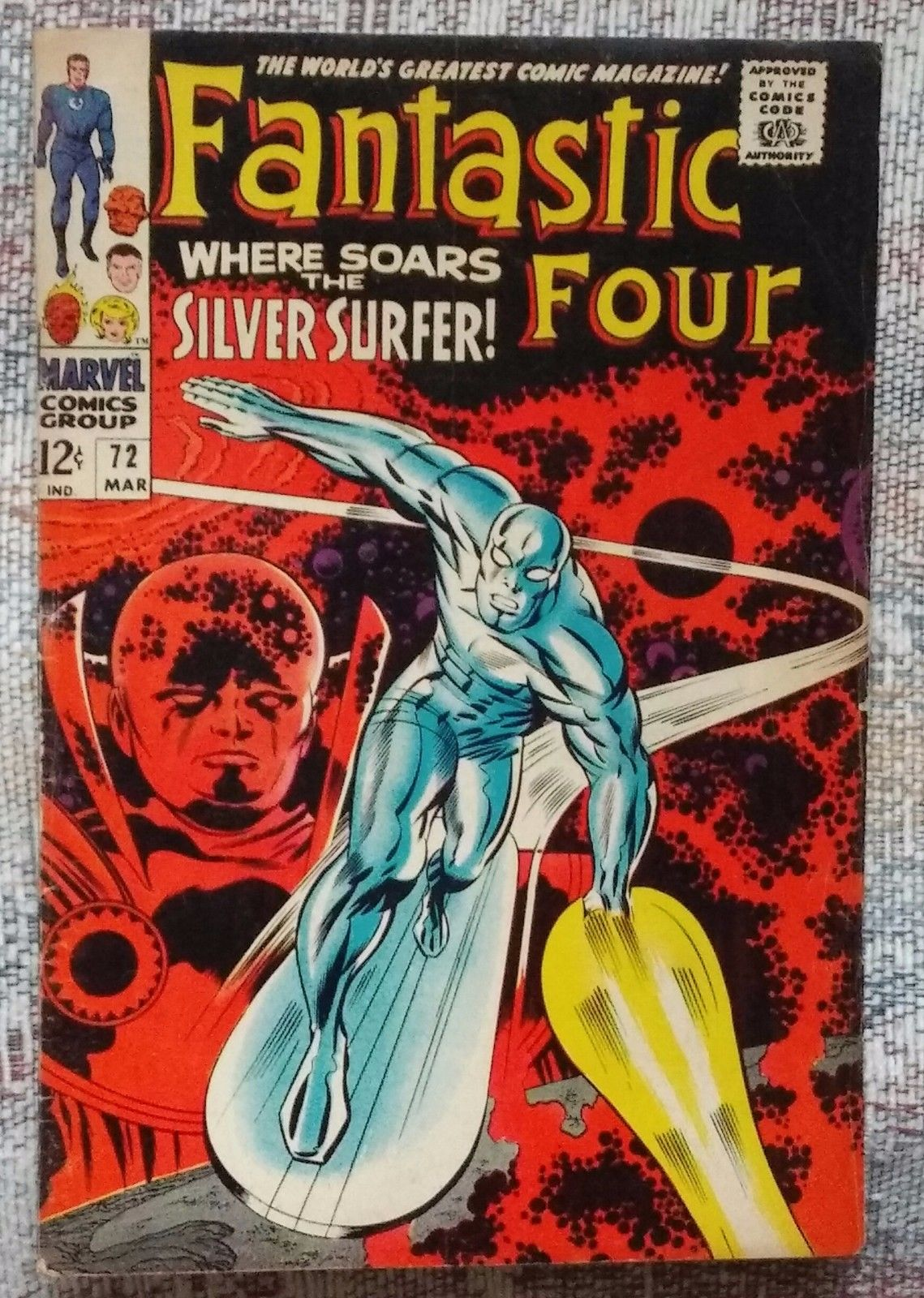 FANTASTIC FOUR 72 & SILVER SURFER &  FANTASTIC-FOUR-1A-2014-NM  FANTASTIC-FOUR-1