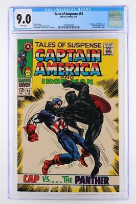Tales of Suspense #98 - CGC 9.0 VF/NM -Marvel 1968- Iron Man & Captain America