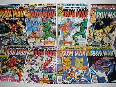 Marvel Comics Iron Man # 134 135 136 137 138 139 140 141 High Grade Run 8.0-9.0