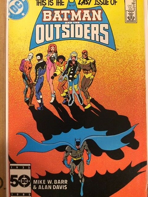 Batman and the Outsiders/Adventures of the Outsiders  1-46 + annuals 1-2