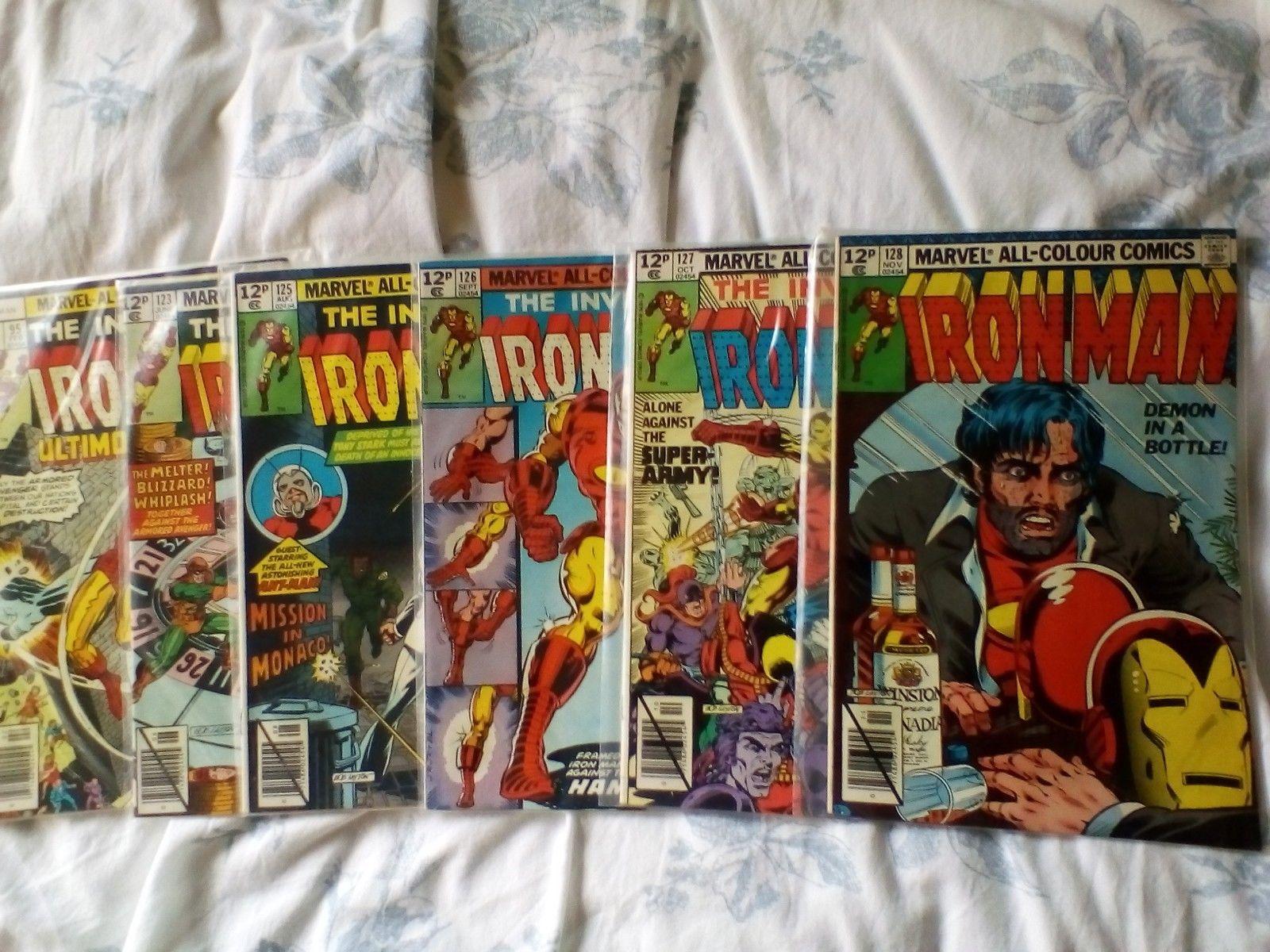 Iron Man 80,95,123,125,126,127,128,129,130,131,132,133,134-138,140,142 Hulk app