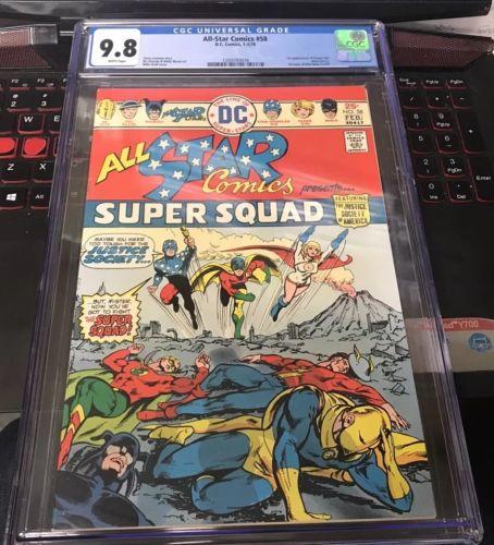 All Star Comics #58 1976 CGC 9.8 WP - 1st Power Girl