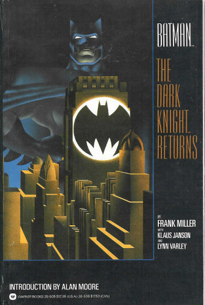Batman The Dark Knight Returns TPB (DC)(1986) # 1  1st Print