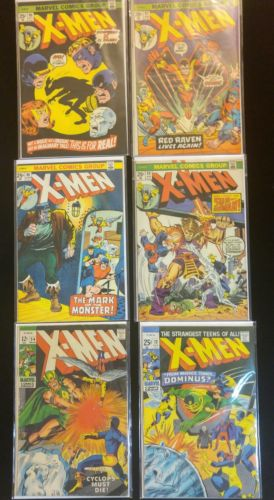 Uncanny X-Men COMIC BOOK LOT 54 72 88 89 90 92 106 to 110 plus CLOAK & Dagger 4