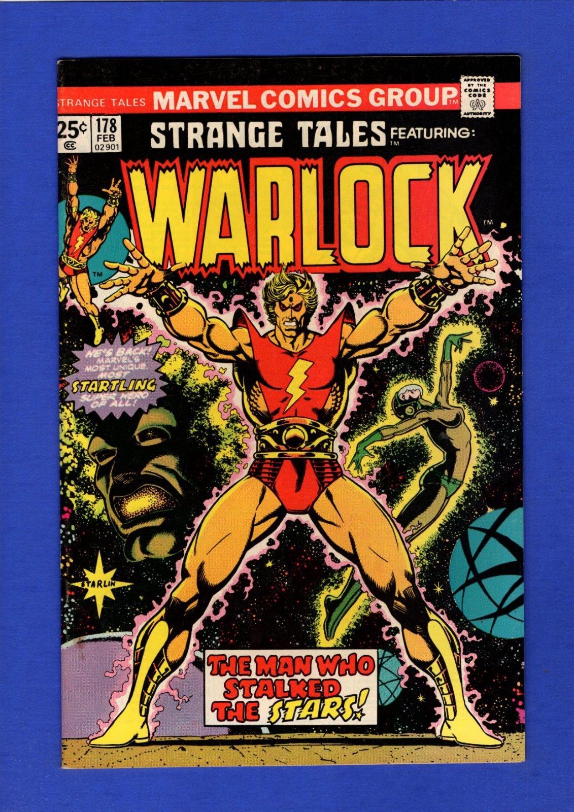 STRANGE TALES #178 WARLOCK VF+ GLOSSY HIGH GRADE BRONZE AGE MARVEL KEY