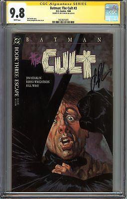 Batman: The Cult #3 CGC 9.8 NM/MT Signed JIM STARLIN Bruce Wayne Gotham City JLA