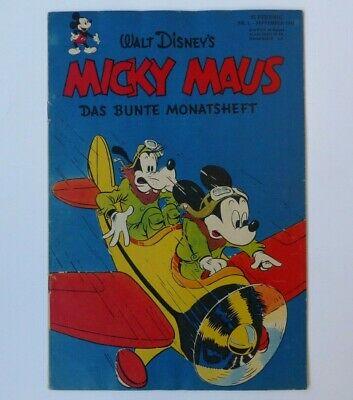 Micky Maus (Ehapa, Gb.) Jahrgang 1951 - Nr. 1 -  Zust. 1-2