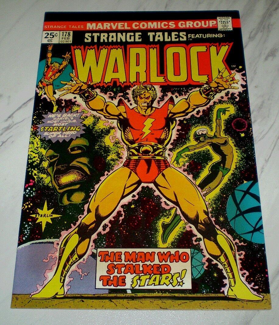 Strange Tales #178 NM+ 9.6 OW Unrestored 1975 Marvel 1st Magus, Warlock begins