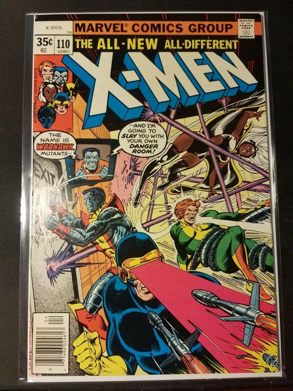 Uncanny X-Men 110, 111, 112, 113, 114