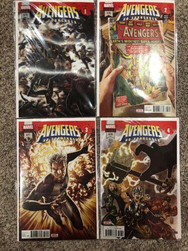 Avengers No Surrender complete Avengers 675-690 Avengers 672-674 Champions 13-15