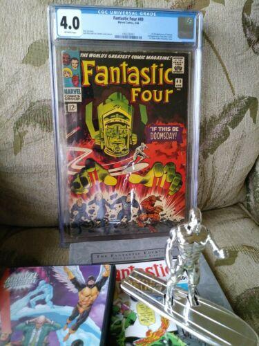 Fantastic Four 49 cgc 4.0 Fantastic four masterworks vol 1.Silver surfer toybiz