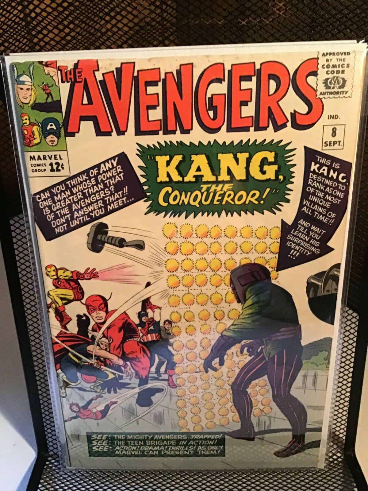 Avengers 8 1st app Kang 5.5, Avengers 19 5.5, Avengers 43 5.5 lot