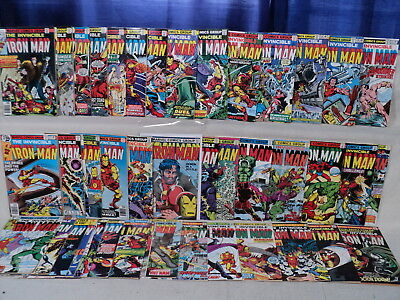 Iron Man 101-150 SET Solid #118, #128 Demon in a Bottle Marvel Comics (s 10866
