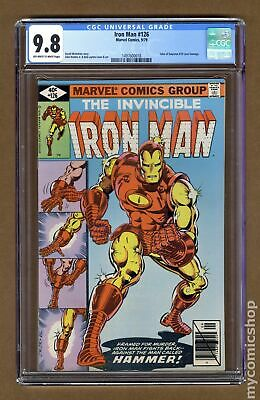 Iron Man (1st Series) #126 1979 CGC 9.8 1497600018