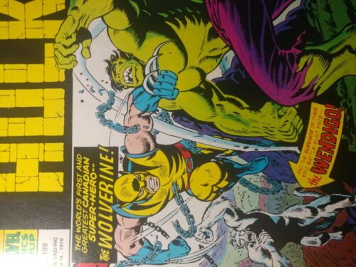 MIGHTY WORLD MARVEL #198 VF+ 8.5  ????1972 1ST  WOLVERINE APP. UK HULK 181 RARE
