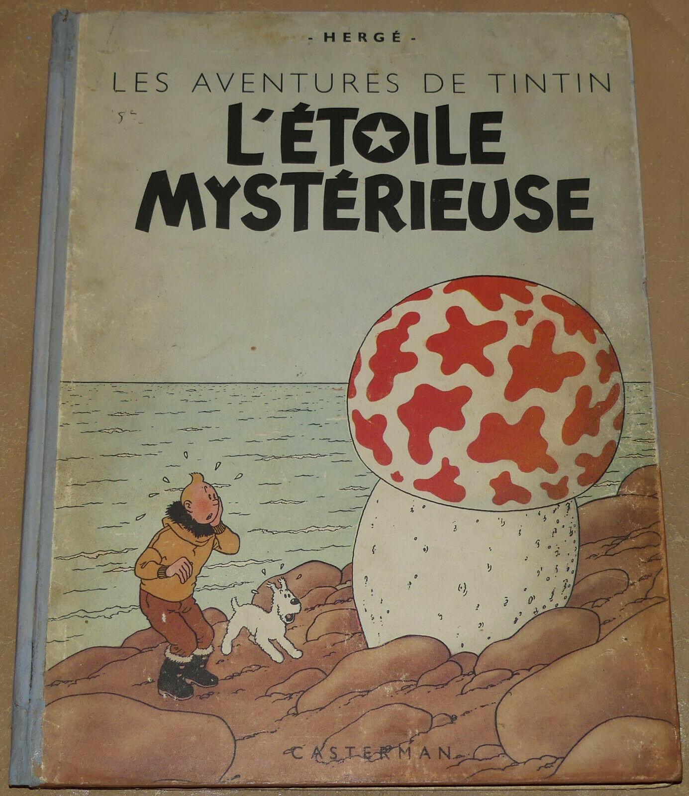TINTIN -10- / L'étoile mystérieuse / B1 1946 /  BE+